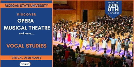 Discover Vocal Studies @ Morgan State University tickets