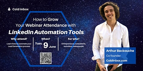 How to Grow Your Webinar Attendance with  LinkedIn Automation Tools tickets