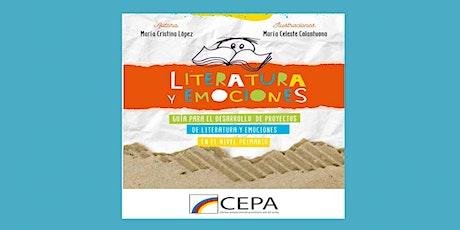 """Charla-Presentación del libro """"Literatura y Emociones"""" entradas"""