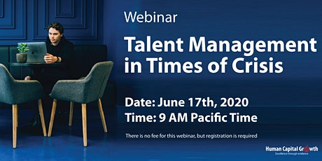 Public Webinar: Talent Management in Times of Crisis tickets