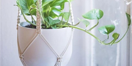 Macrame Pot Hanger Workshop tickets