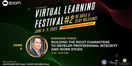 VIRTUAL LEARNING FESTIVAL #2, BE AGILE & STAY RELEVANT! tickets