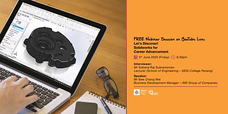 Let's Discover! Solidworks for Career Advancement tickets