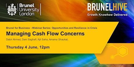 Brunel for Business - Managing Cash Flow Concerns tickets