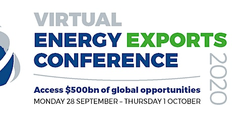 Virtual Energy Exports Conference 2020 tickets