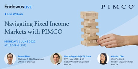 Endowus Live: Navigating Fixed Income Markets with PIMCO tickets
