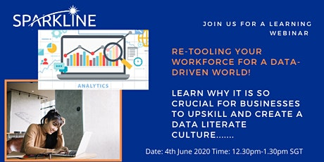 Re-Tooling your workforce for a 'Data-Driven' World! tickets