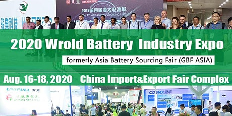 2020 World Battery Industry Expo  tickets
