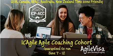 (2 seats left) ICAgile ICP-ACC Agile Coach Certification Online Bootcamp (1 week)  - with Sabine Khan tickets