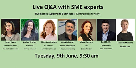 Live Q&A with SME experts tickets