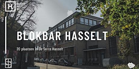 Blokbar Hasselt | 29.05 - 05.06 tickets