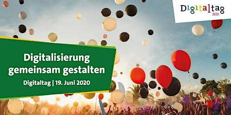 Digitaltag 2020: Ein Blick hinter die Kulissen der Digitalisierung Tickets