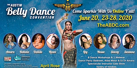 The Austin Belly Dance Convention 2020 ONLINE tickets