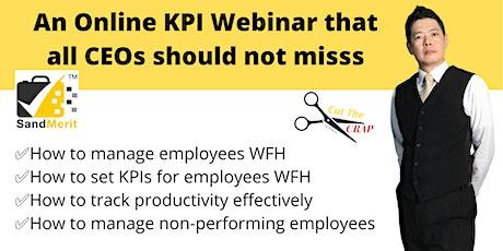Free  KPI Webinar: How to track employees' KPI effectively? entradas