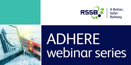 ADHEREWebinar: Driving policies for low-adhesion: are they fit for purpose? tickets