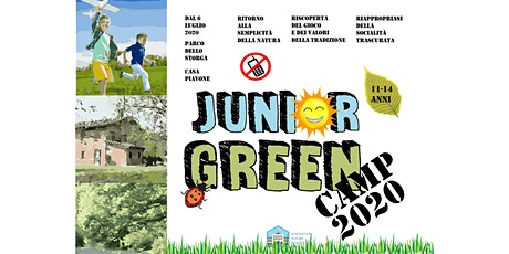 Junior Green CAMP 2020_settimana n.3 20-24/07 tickets