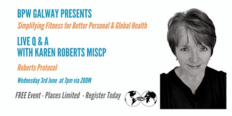 BPW Galway Simplifying Fitness for Better Personal and Global Health tickets