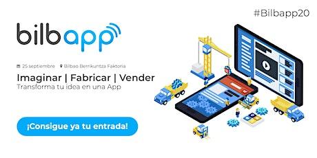 4ª Edición del Bilbapp | Diseño, Desarrollo y Marketing de APPs en Bilbao entradas