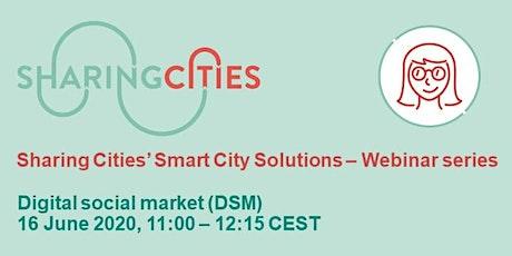 Sharing Cities' Smart City Solutions – Webinar Series: DSM tickets