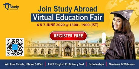 Study Abroad Virtual Fair 2020 | QSTUDY tickets
