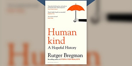 Rutger Bregman - 'Humankind' tickets