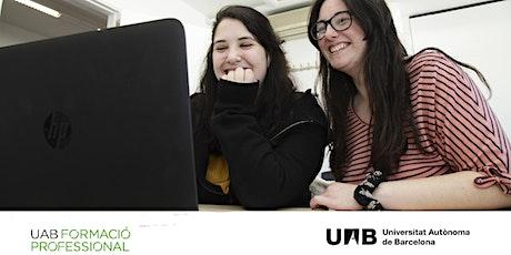 Sessió informativa online sobre el CFGS en Comerç Internacional UAB boletos