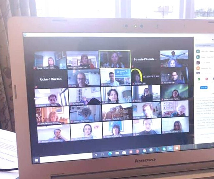The Sheen Network: Virtual Business Networking Meeting image