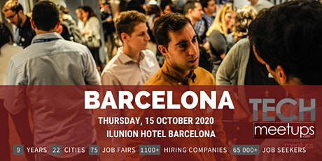 Barcelona Tech Job Fair Autumn 2020 By Techmeetups entradas