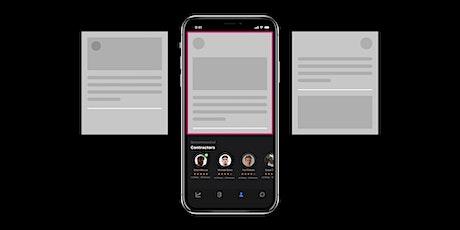 Create a quick interactive app prototype in one hour (Online) billets