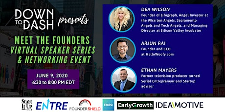 Meet the Founders - Virtual Speaker Series & Networking Event tickets