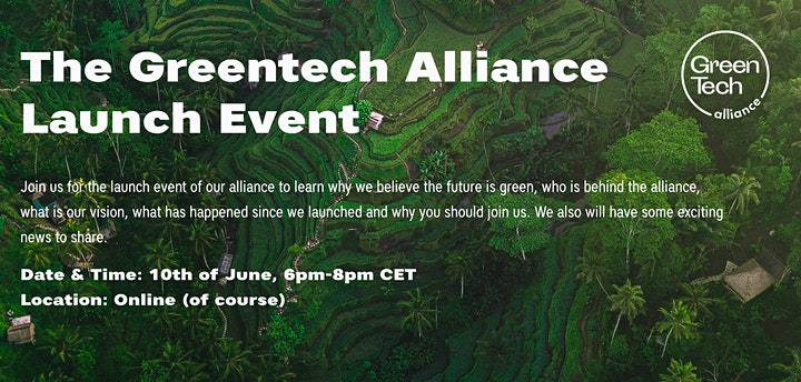 The Greentech Alliance Launch Event image
