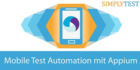 Mobile Test Automation mit Appium - Schulung Tickets