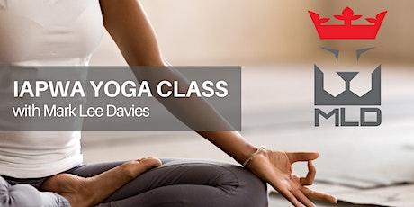 IAPWA Yoga Class with Mark Lee Davies tickets