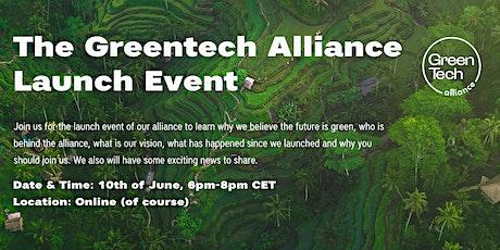 The Greentech Alliance Launch Event tickets