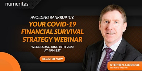 Avoiding Bankruptcy: Your COVID-19 Financial Survival Strategy tickets