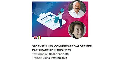 Webinar Storyselling: Comunicare Valore per Far Ripartire il Business biglietti