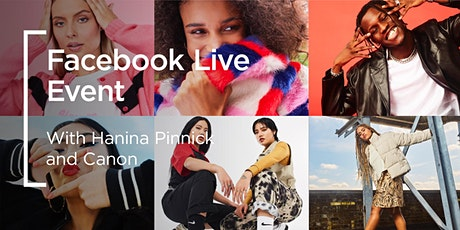 Facebook Live | Hanina Pinnick: From University to Fashion Photographer tickets