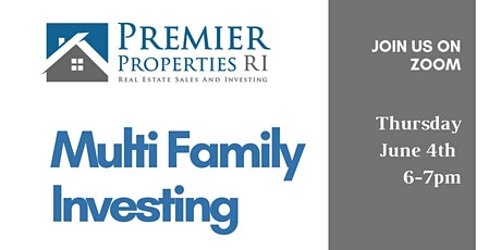 Multi Family Investing with Marc Santos of Premier Properties RI tickets