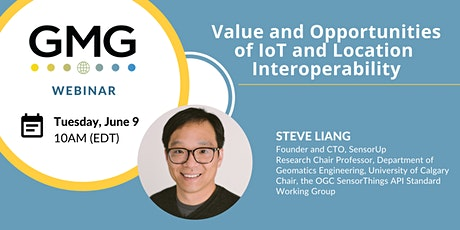 GMG Webinar: Value and Opportunities of Iot and Location Interoperability biglietti