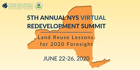 CCLR 5th Annual VIRTUAL Redevelopment Summit tickets