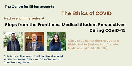 Steps from the Frontlines: Medical Student Perspectives During COVID-19 tickets