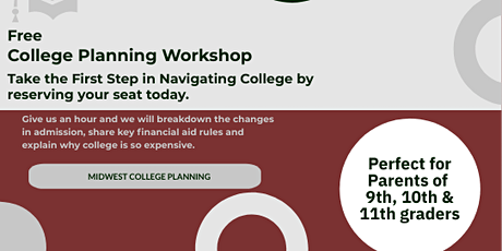 New Albany Free College Planning Workshop tickets