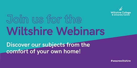 Wiltshire Webinars 2020 | Travel and Tourism tickets