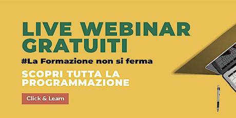 Live Webinar - Vigilanza e modello di organizzazione, ex D.lgs. n. 231/2001 biglietti