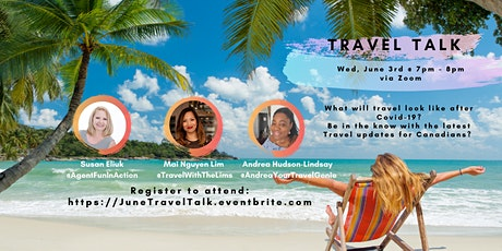 Travel Talk with your Canadian Travel Pros tickets