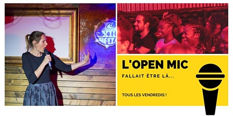 L'Open Mic de Lausanne  - 26 juin billets