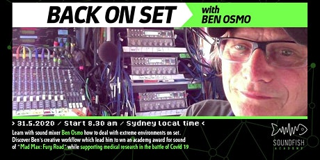 "Soundfish Academy ""BACK ON SET"" with Ben Osmo tickets"