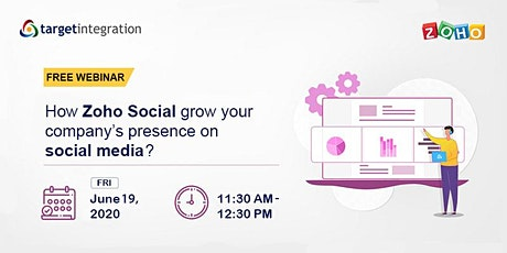How Zoho Social grow your company's presence on social media? tickets