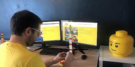 Bricks McGee virtual LEGO fairground rides workshop tickets