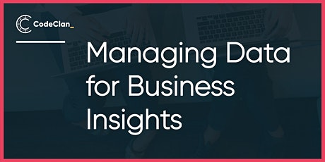 Managing Data for Business Insights tickets